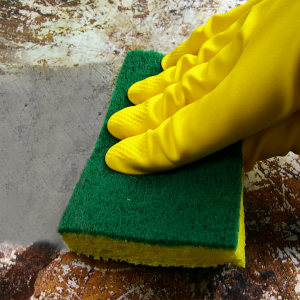 HOW TO REMOVE BUILT UP GREASE